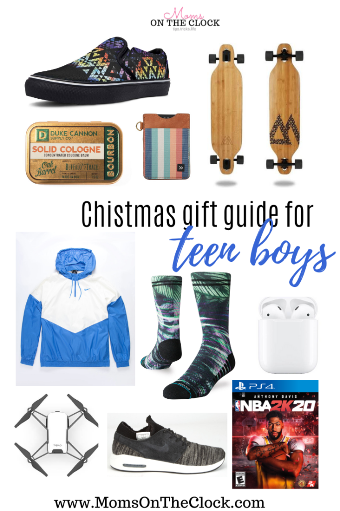 Best Christmas Gifts For Teen Boys 2019 Moms On The Clock